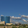 Indianapolis Indiana Skyline Pano 10 by David Haskett II