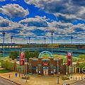 Indianapolis Indians Victory Field by David Haskett II