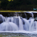 Indianhead Dam - Montgomery County Pa. by Bill Cannon
