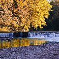 Indianhead Dam - Perkiomen Creek by Bill Cannon