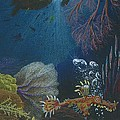 Indigenous Aquatic Creatures Of New Guinea by Beth Dennis
