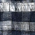 Indigo Squares 1 Of 5 by Carol Leigh