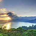 Indonesia, Bali, Mountain And Lakes by Michele Falzone