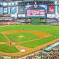 Indoors At Chase Field by C H Apperson