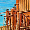 Industrial Detail Photoart by Debbie Portwood