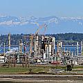 Industrial Refinery by Paul Fell