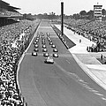 Indy 500 Parade Lap by Underwood Archives