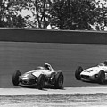 Indy 500 Race Cars by Underwood Archives