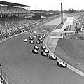 Indy 500 Race Start by Underwood Archives