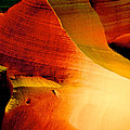 Inferno In Lower Antelope Canyon-az by Ruth Hager