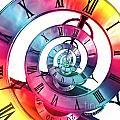 Infinite Rainbow 2 by Steve Purnell