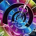 Infinite Time Rainbow 1 by Steve Purnell