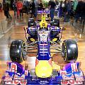 Infiniti Red Bull Formula One Racing Car  by Valentino Visentini