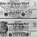 Inflated German Mark Bills by Underwood Archives