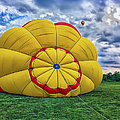 Inflating The Hot Air Balloon by Thomas Woolworth