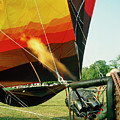Inflation Of A Hot Air Balloon by David Taylor/science Photo Library