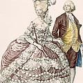 Informal Wedding Dress, Engraved by Pierre Thomas Le Clerc