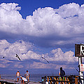 Information Board Of A Pier, Rod by Panoramic Images
