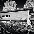 Infrared Covered Bridge by Paul W Faust -  Impressions of Light
