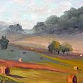 Ingram Haybales by Tommy Thompson