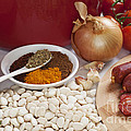 Ingredients For Spanish Chorizo Soup by Colin and Linda McKie