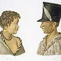 Inhabitants Of New Zealand, 1826 by French School