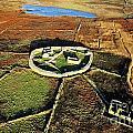 Inishmurray Island County Sligo Ireland Early Celtic Christian Ring Fort Cashel Monastic Settlement  by David Lyons