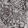 Ink Unfolding by Amanda Van Hoesen