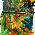 Inktober 21 Color Field by Ken Meyer