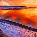 Inlet Sunset by Bruce Nutting