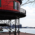Inner Harbor Lighthouse - Baltimore by Bill Cannon