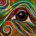 Inner Strength Spirit Eye by Deborha Kerr