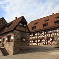 Inneryard Kaiserburg - Nuremberg by Christiane Schulze Art And Photography