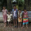 Innocent Smile by Satyen Dasgupta