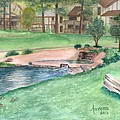 Innsbrook Hole 9 by Lorena Bishop