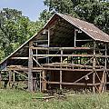 Inside A Barn by Edward Peterson