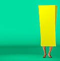 Inside A Yellow Box by Bob Orsillo