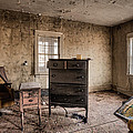 Inside Abandoned House Photos - Old Room - Life Long Gone by Gary Heller