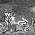 Inside An Egyptian Bathhouse, C.1820s by Dominique Vivant Denon