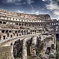 Inside Colosseum by Sophie McAulay
