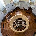 Inside Frauenkirche Dome by Robert VanDerWal