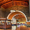 Inside Los Angeles Union Station by Richard Cheski