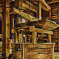 Inside Mingus Grist Mill by Priscilla Burgers