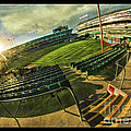 Inside Oakland Coliseum by Blake Richards