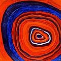 Inside - Panel I by Sandra Gail Teichmann-Hillesheim