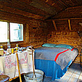 Inside Savage River Cabin In Denali Np-ak   by Ruth Hager
