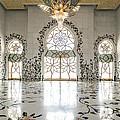 Inside Sheikh Zayed Grand Mosque - Abu Dhabi by Matteo Colombo