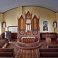 Inside St Olaf Lutheran Church by David and Carol Kelly