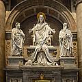 Inside St Peters Basiclica - Vatican Rome by Jon Berghoff