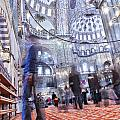 Inside The Blue Mosque by Sophie McAulay